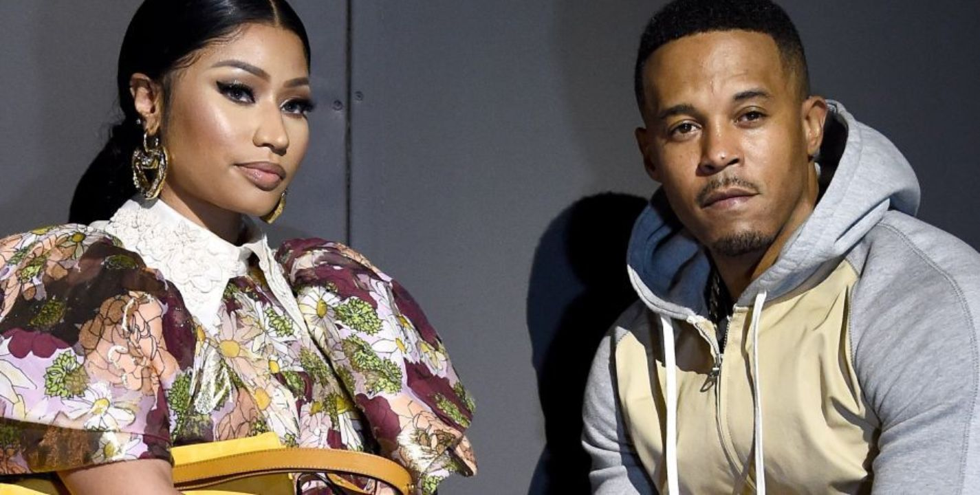 Nicki Minaj and husband Kenneth Perry