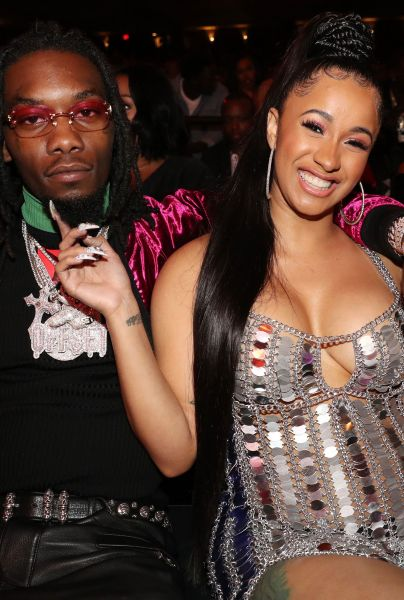 Cardi B with her husband, Offset